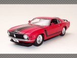 FORD MUSTANG BOSS 302 ~ 1970 | 1:24 Diecast Model Car