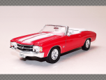 CHEVROLET CHEVELLE SS 454 CONVERTIBLE | 1:24 Diecast Model Car