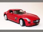 MERCEDES SLS AMG  | 1:24 Diecast Model Car