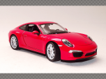 PORSCHE 911 991 CARRERA S ~ 2013 | 1:24 Diecast Model Car