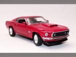FORD MUSTANG BOSS 429 ~ 1970   1:24 Diecast Model Car