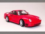 PORSCHE 959 ~ RED | 1:24 Diecast Model Car