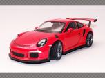 PORSCHE 911/991 GT3 RS ~2016 ~ Orange | 1:24 Diecast Model Car