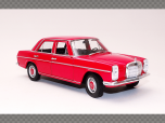 MERCEDES 220 ~ RED | 1:24 Diecast Model Car