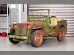 """WILLYS JEEP """"MILITARY POLICE 1944 